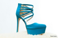 Spring Green strappy platform pump by Charlotte Russe (also available in fuschia Pink) SOLD OUT